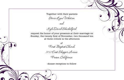 wedding invitation : wedding invitation template   Superb