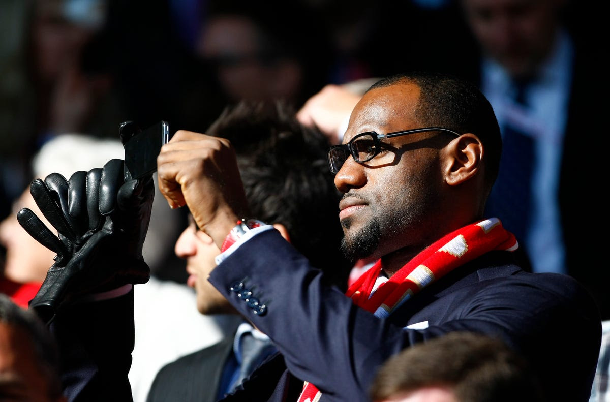 He's also quite the businessman himself. He owns a piece of Liverpool FC.