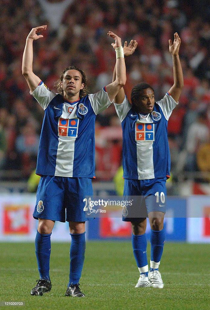 Portuguese Premier League - FC Porto vs SL Benfica - April 1, 2007   Getty Images