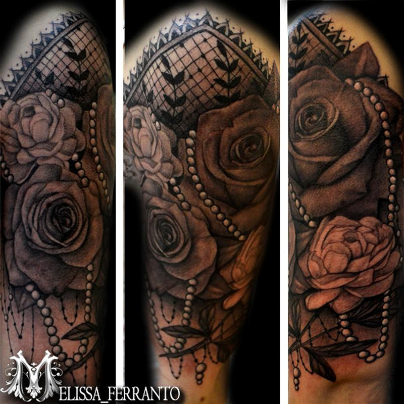 Tattoos By Melissa Ferranto Tattoos Flower Rose Flowers And