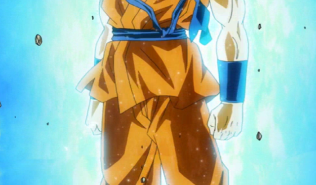 Dragon Ball Z Goku Super Saiyan Blue