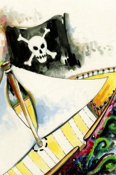 """""""Los viajes de Gulliver: Abordaje de dos buques pirata"""""""