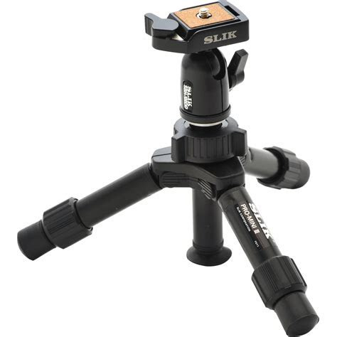 Slik Mini Pro DQ 2 Section Table Top Tripod 611 353 B&H Photo