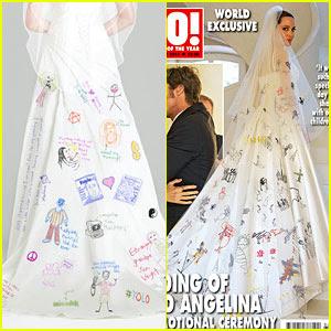 Angelina Jolie Wedding Dress Tamunsa Delen