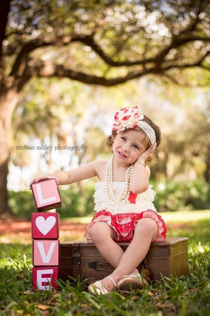 Babies valentine's day Dresses (4)