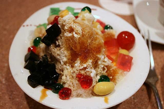 DIY Ice kachang dessert!