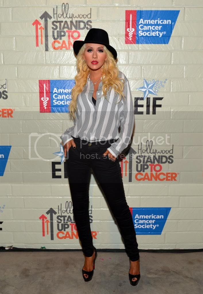 Christina Aguilera attends Hollywood 'Stands Up to Cancer' event in Culver City...
