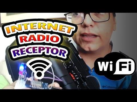 Receptor de radio para emisoras de internet con esp8266