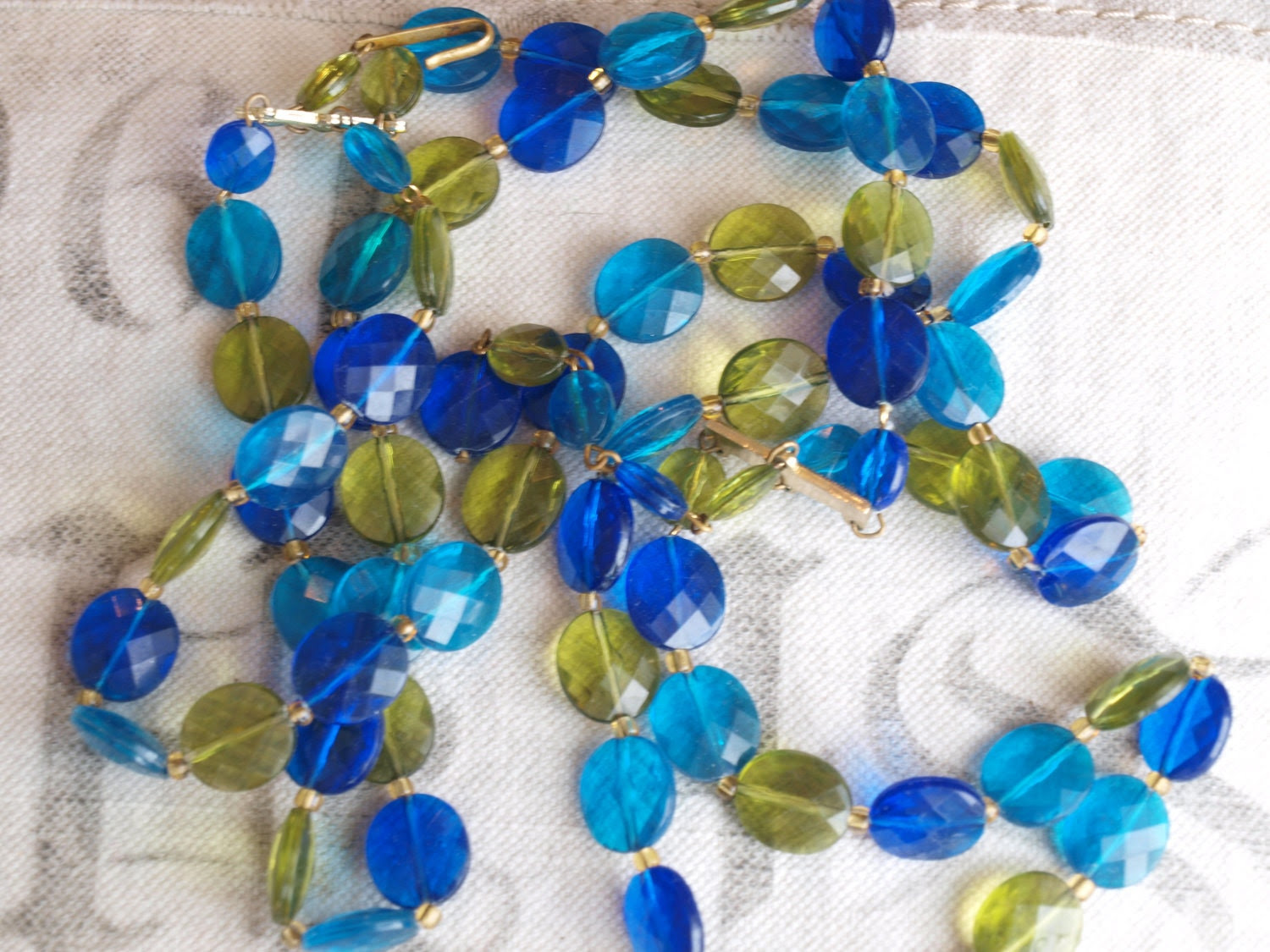 VINTAGE made in West Germany necklace 1950s or 1960s...new price
