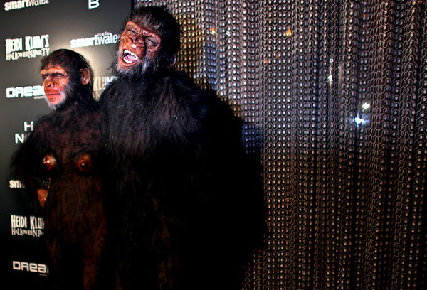Halloween, Heidi Klum and Seal  - via Yana Paskova for The New York Times