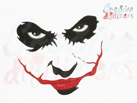 35 Latest Joker Face Drawing Simple