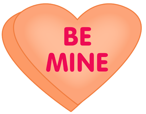 Image result for candy heart clipart