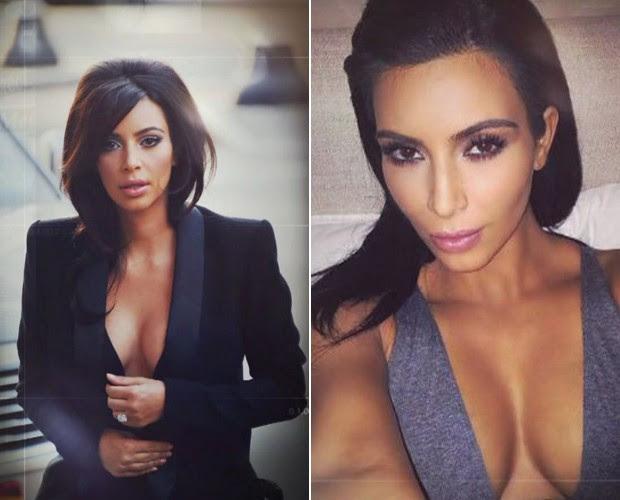 Kim Kardashian no Mais Você (Foto: Reprodução TV Globo)