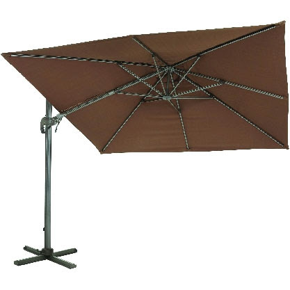 10' Square Offset Patio Umbrella