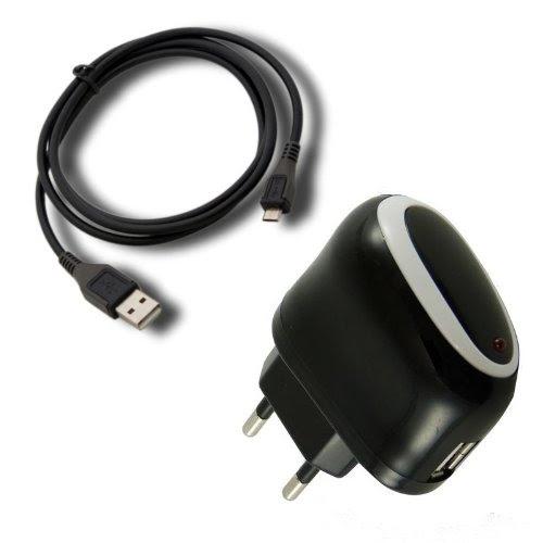 Micro USB Mini-USB Chargeur Solaire Pour LG E900 Optimus 7;id/éal pour les d/éplacements Samsung avec adaptateur pour Nokia