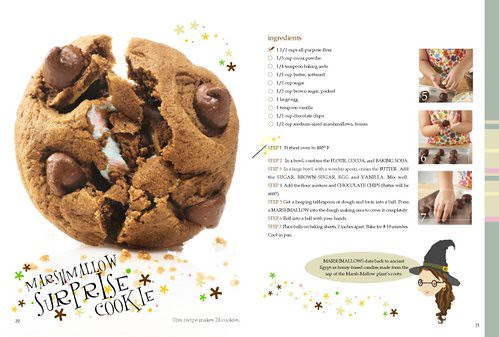 Marshmallow surprise cookie