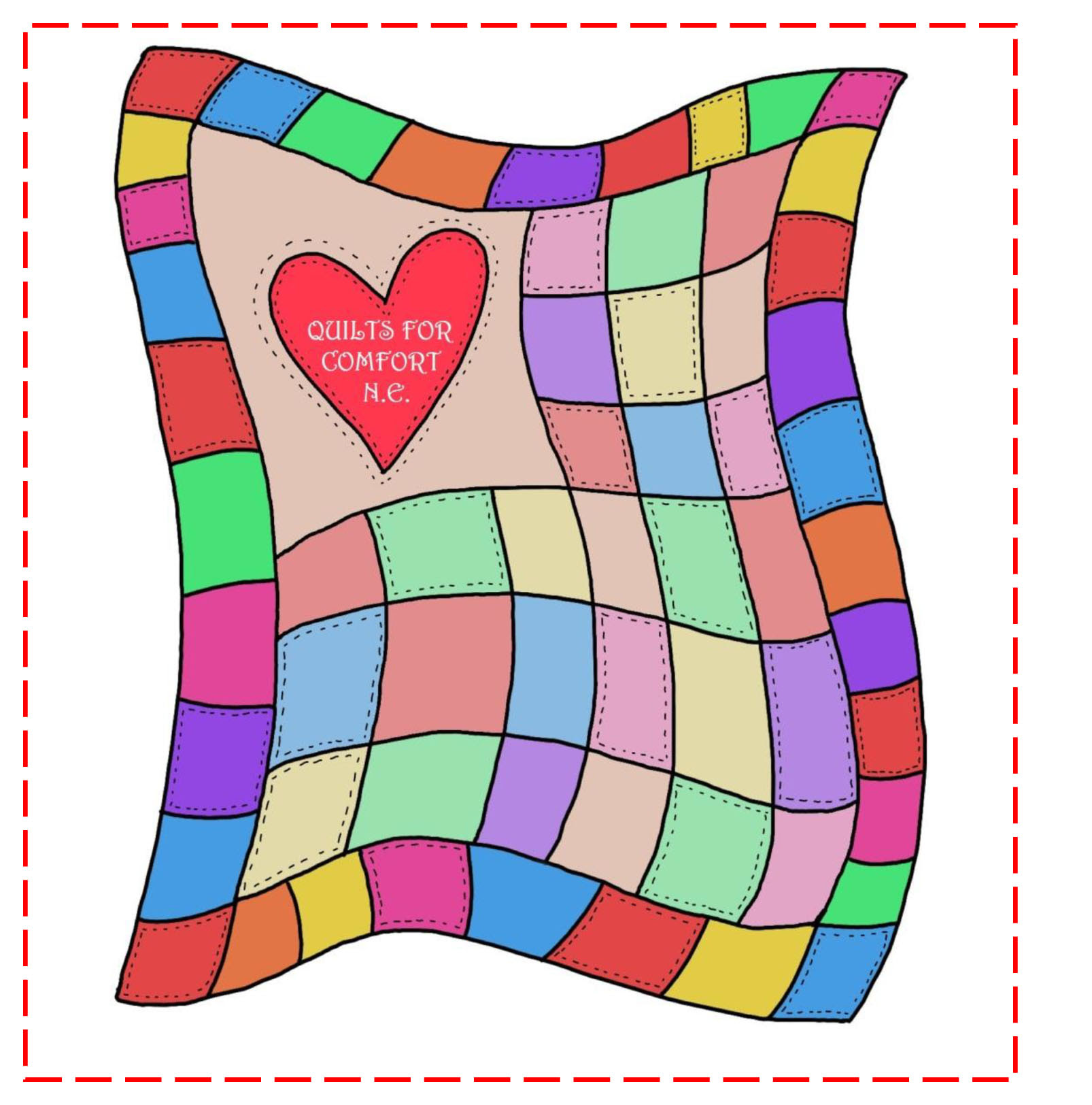 Cartoon Galery Net Cartoon Quilt Clipart