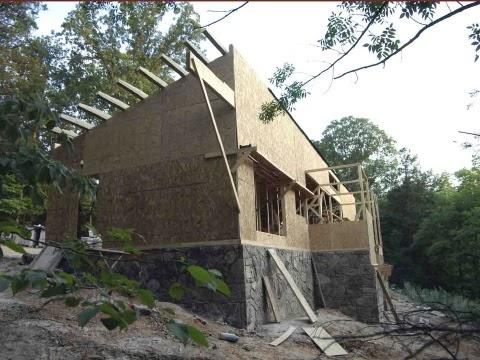 Modern House 2011 0242 Plat House Construction Update