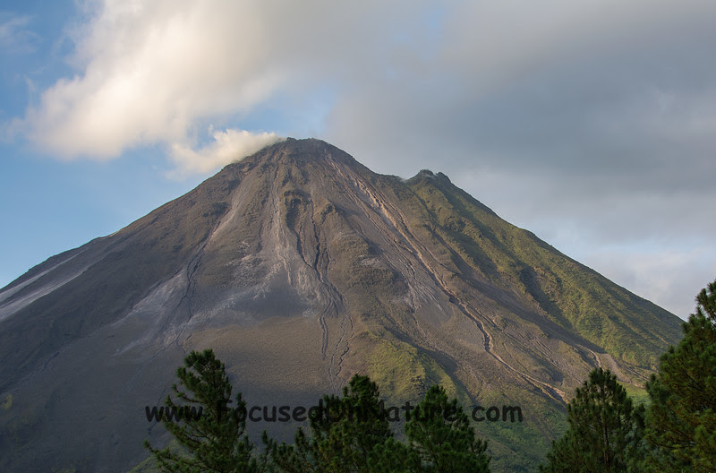 Arenal with Fumarole