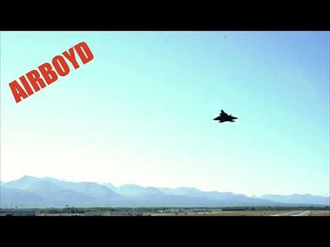 F-22 Raptors At The Fence • Joint Base Elmendorf-Richardson