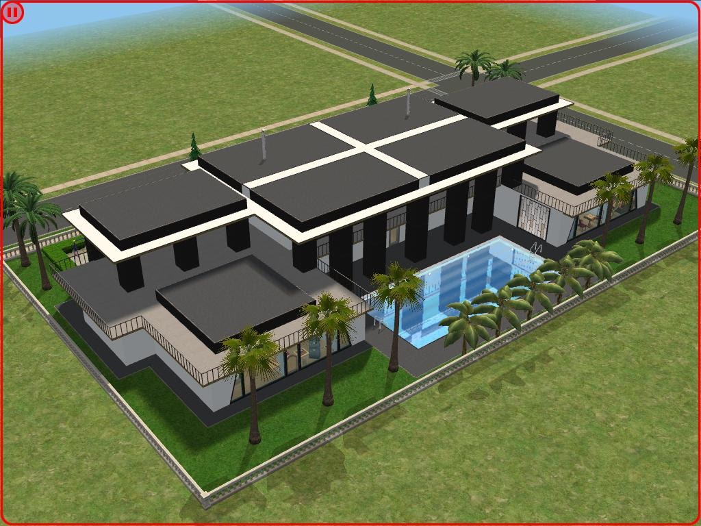 . Modern House Plans The Sims 3   Design For Home