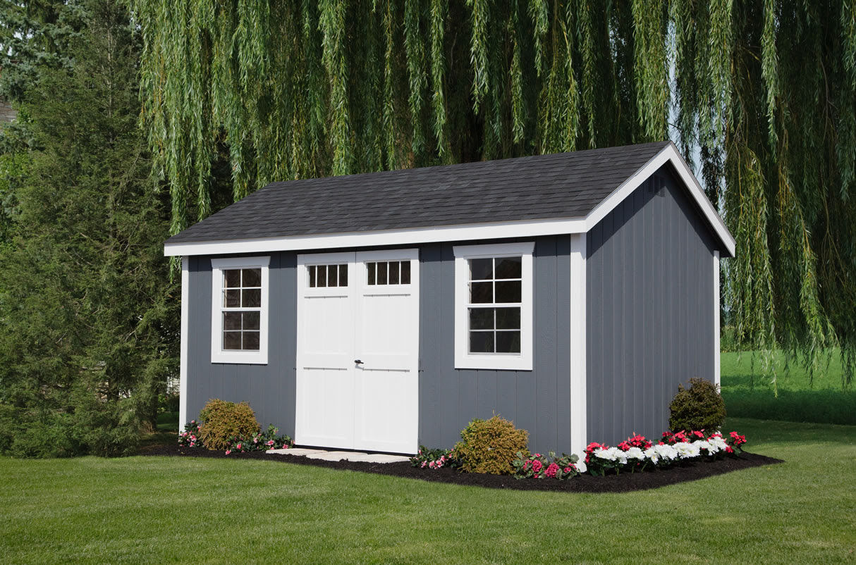 A Frame Colonial Storage Barns Sheds Custom Made From Riehl Quality