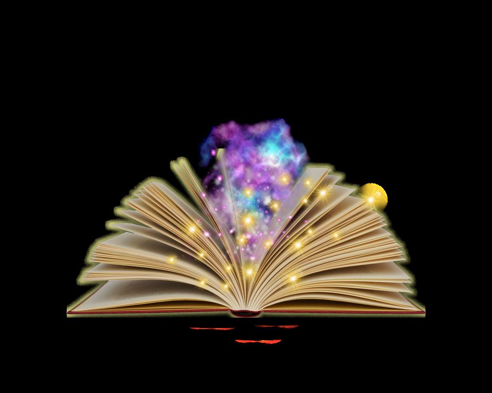 كتاب قديم مفتوح للتصميم