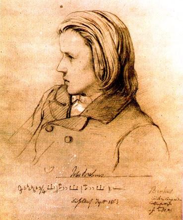 Brahms adolescente