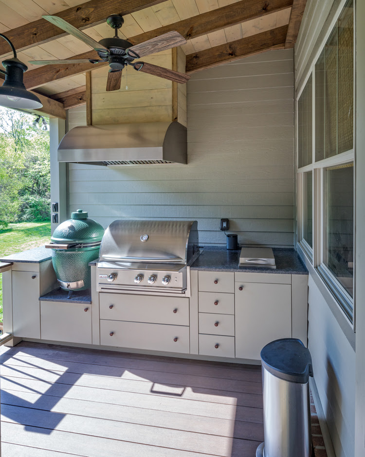Rethinking the outdoor kitchen concept - The Porch ...