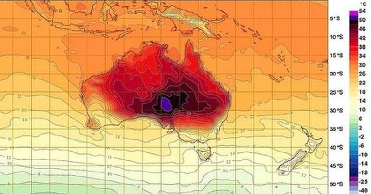 Resultado de imagem para australia onda de calor 50º