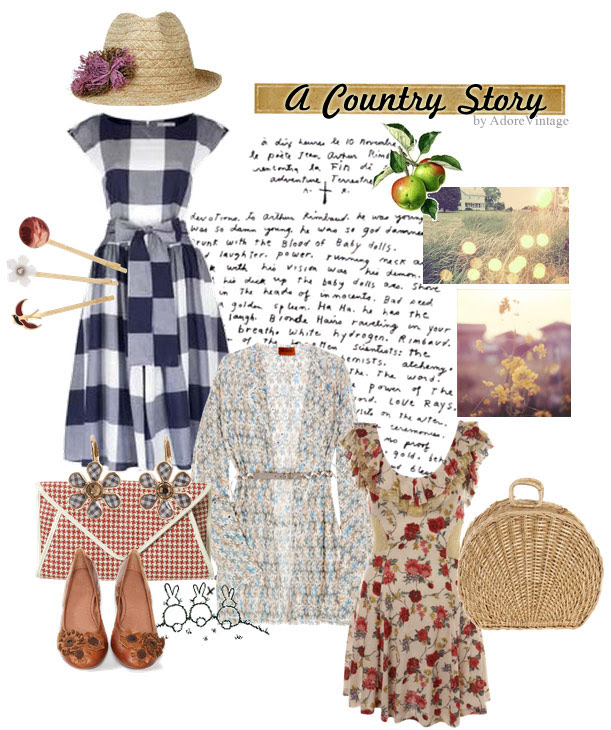A Country Story - Vintage Inspired Outfit