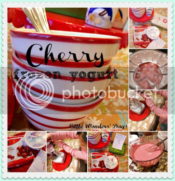 cherry frozen yogurt recipe