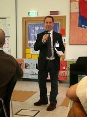 FAO's Steve Katz facilitating World Café session on Good Practices