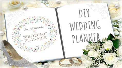 DIY Wedding Planner (Cheap and Budget Friendly)   YouTube