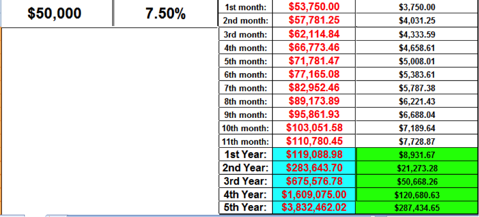 how much does a beginner forex trader make