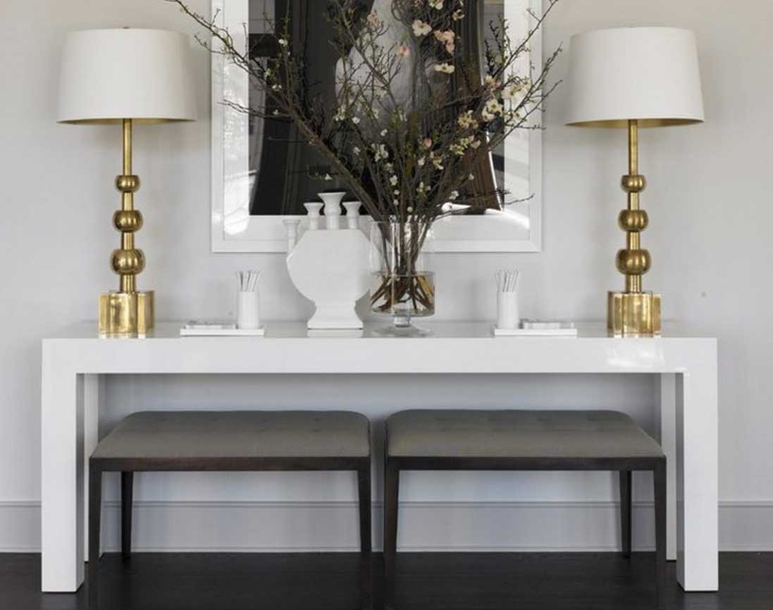 The Art of Styling: Console Tables - Jessica Elizabeth