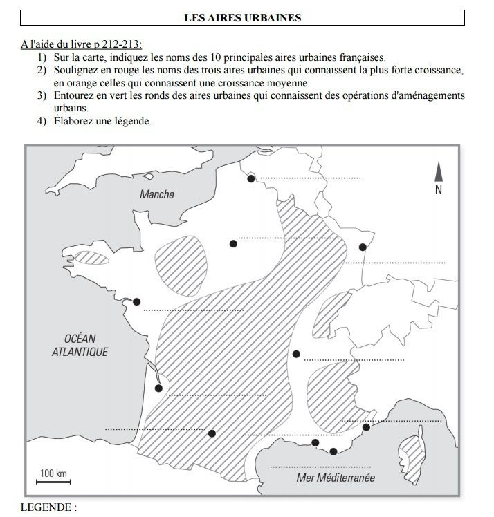 Cartes Muettes De La France à Imprimer Chroniques