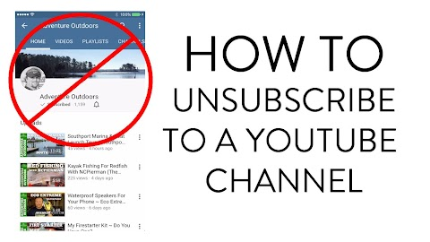How To Unsubscribe From Youtube