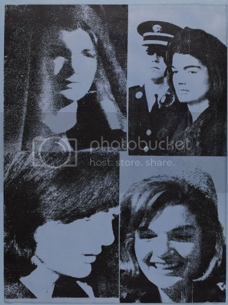 jackie3heritagefr-1.jpg Andy Warhol Screenprint - Jacqueline Kennedy III (Jackie III) Artist Proof - Hand Signed