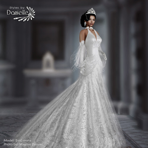 DANIELLE AD Estelle Bridal White