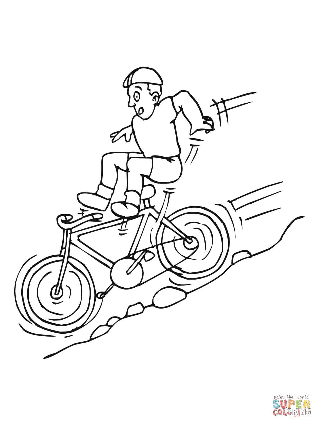 Klick das Bild Bergab auf dem Mountain Bike