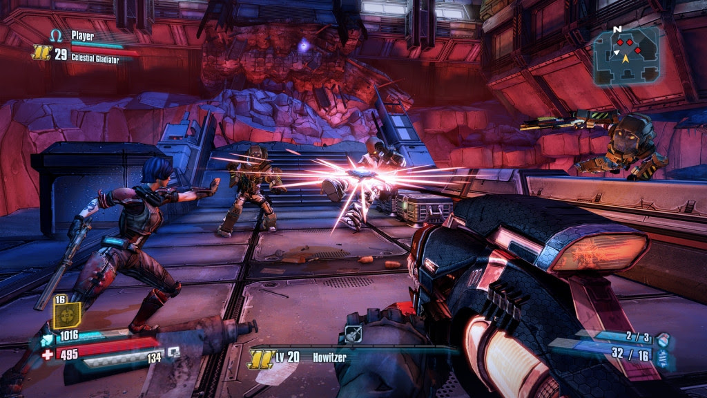 Screen Shot Of Borderlands The Pre Sequel (2014) Full PC Game Free Download At worldfree4u.com