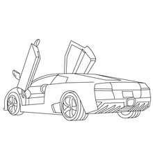 Dibujos Para Colorear Lamborghini Murcielago Gratis Eshellokidscom