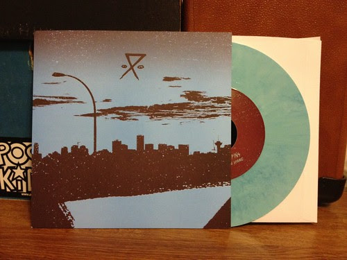 "Needles // Pins - Getting On Home 7"" - Blue Vinyl (/150) by Tim PopKid"