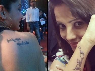 Hakuna Matata Tattoo Jennifer Winget - Wiki Tattoo