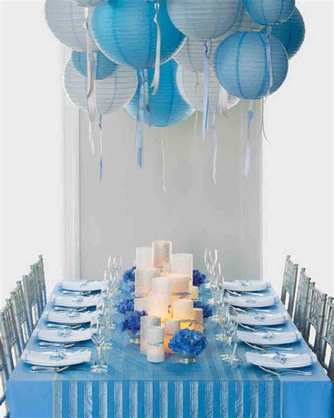 Wedding Colors: Blue and Silver   Martha Stewart Weddings