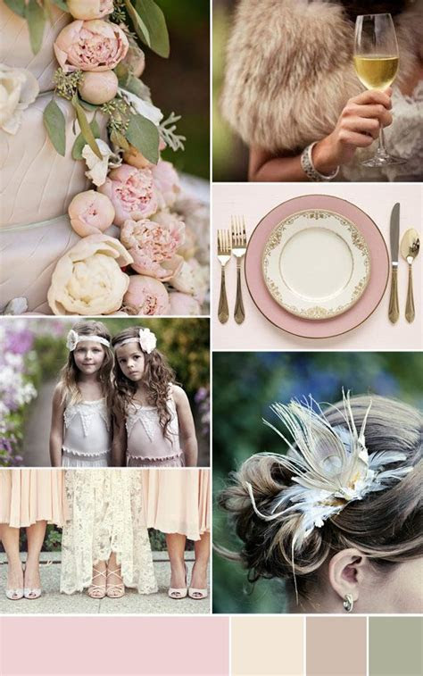 Dusty Pink Wedding Inspiration   Wedding   Dusty pink