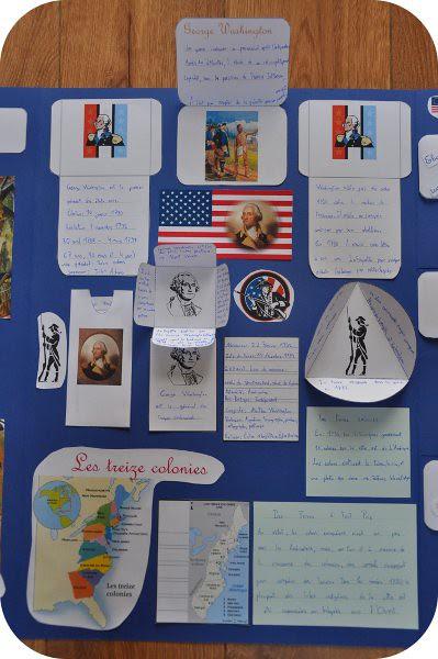 lapbook Guerre d'Indépendance
