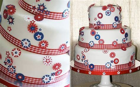 Bella Weddings & Events: Frosting Friday   Happy 4th of July!