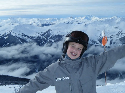 DJ takes Blackcomb, Whistler, BC